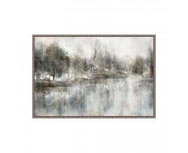 Luxusný obraz Woodland Cement 120x80cm
