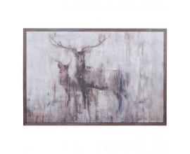 Luxusný obraz Stags In The Wilderness 100x150cm