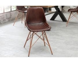 Dizajnová industriálna stolička Toro