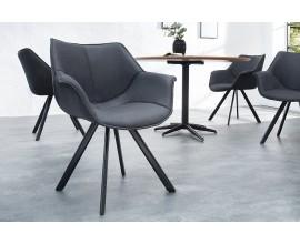 Dizajnová stolička Dutch Retro antická šedá