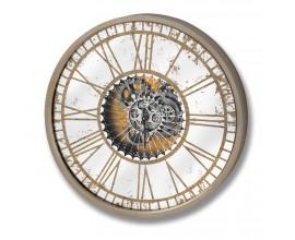 Dizajnové okrúhle nástenné hodiny 60cm