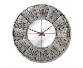 Dizajnové industriálne nástenné hodiny Hammer 120cm