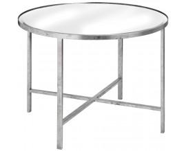 Dizajnový zrkadlový stolík  Cross