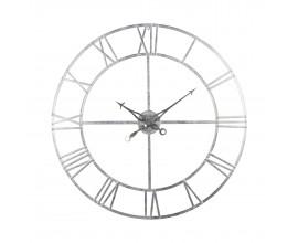Dizajnové nástenné hodiny Skeleton 102cm