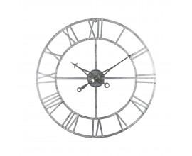 Dizajnové nástenné hodiny Skeleton 82cm