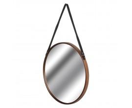 Dizajnové závesné zrkadlo medené Rim 54cm
