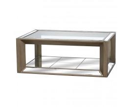 Luxusný zrkadlový konferenčný stolík ORLEANS 130x90