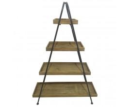 Štýlový industriálny regál STAGE 138cm