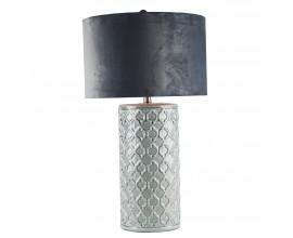 Luxusná keramická lampa QUEEN 74cm