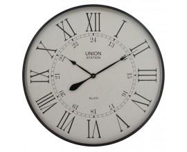 Štýlové nástenné hodiny Embossed 80cm