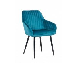 Dizajnová stolička Timeless Comfort tyrkysová