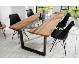 Štýlový jedálenský stôl z masívu Rieka 200cm