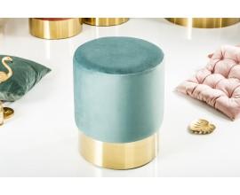 Luxusná taburetka Modern Barock mentolová