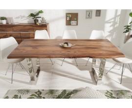 Dizajnový jedálenský stôl z masívu Mammut 200cm