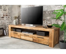 Štýlový TV stolík z masívu Mango 170cm