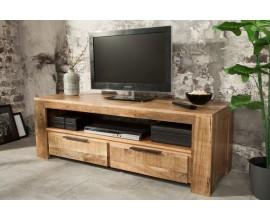 Štýlový TV stolík z masívu Mango 130cm