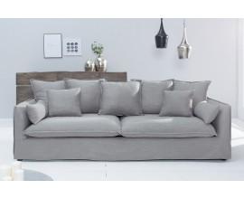 Elegantná štýlová sedačka Heaven sivá