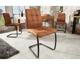 Dizajnová industriálna jedálenská stolička Modena