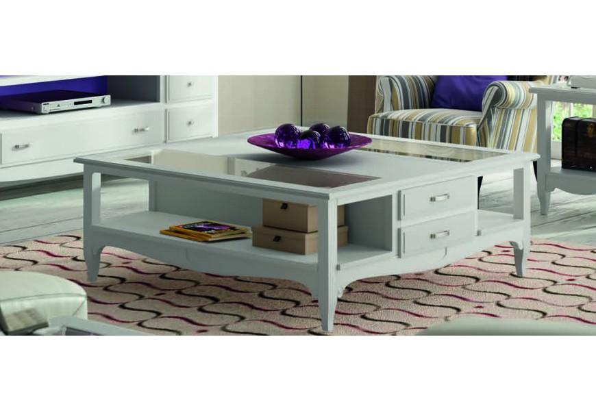 Štýlový elegantný konferenčný stolík FONTANA uno