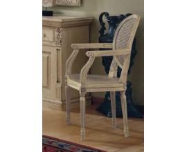 Rustikálna luxusná stolička s lakťovými opierkami Nuevas formas 97cm