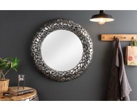 Strieborné štýlové zrkadlo Riverstone 82cm
