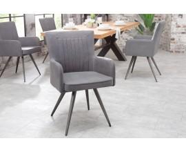 Jedinečná stolička Ipswich šedá