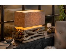 Atypická stolná lampa Luton