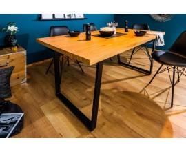 Dizajnový industriálny jedálenský stôl Garret