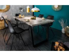 Dizajnový industriálny jedálenský stôl Garret Beton