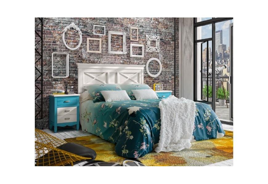 Luxusná masívna posteľ Mistral