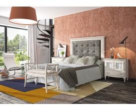 Luxusná posteľ VERONA s čalúneným čelom 150cm