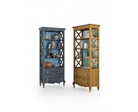 Luxusná masívna knižnica so zásuvkami VOLGA