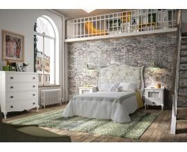 Luxusná posteľ z masívu INDOLA