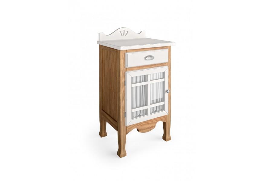 Luxusný štýlový stolík Decco (dvierka ľavé)