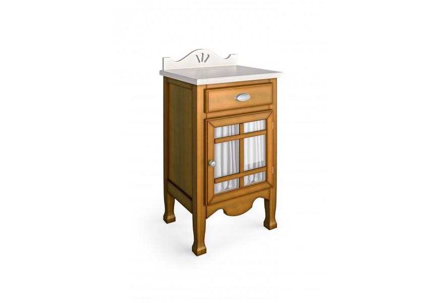 Luxusný štýlový stolík Decco (dvierka pravé)