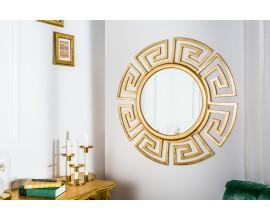 Luxusné okrúhle zrkadlo Euphoria 85cm zlaté