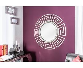 Luxusné okrúhle zrkadlo Euphoria 85cm strieborné