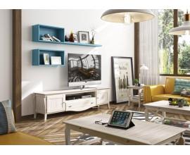 Luxusný TV stolík z masívu MEDITERRÁNEO 210cm