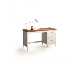 Exkluzívny masívny písací stolík AMBERES o šírke 140-170cm