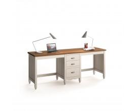 Exkluzívny písací stolík AMBERES o šírke 180-210cm