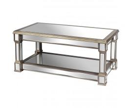 Zrkadlový luxusný konferenčný stolík Belfry