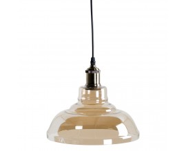 Dizajnová industriálna závesná lampa Dusk III