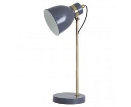 Nadčasová stolná lampa s prvkami retro štýlu