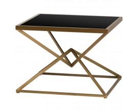 Dizajnový Art-Deco príručný stolík