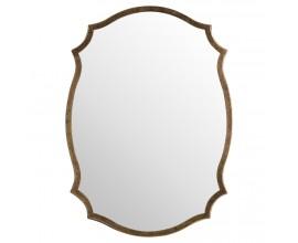 Jedinečné antické bronzové zrkadlo 60cm