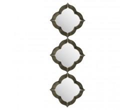 Dizajnové trojité nástenné zrkadlo Casablanca