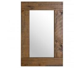 Nadčasové zrkadlo Deanery s masívnym dreveným rámom