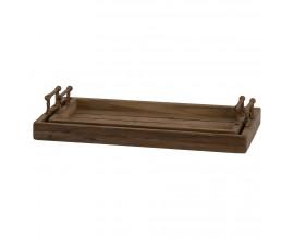 Originálne drevené podnosy s prvkami rustikálneho a vidieckeho štýlu