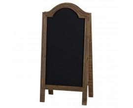 Rustikálna tabuľa z masívneho dreva