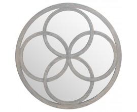 Dizajnové art-deco zrkadlo Flower of Life